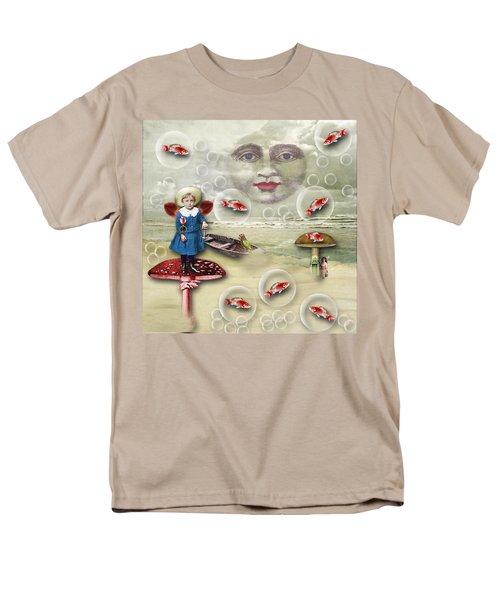 Something Fishy At The Shore Men's T-Shirt  (Regular Fit)
