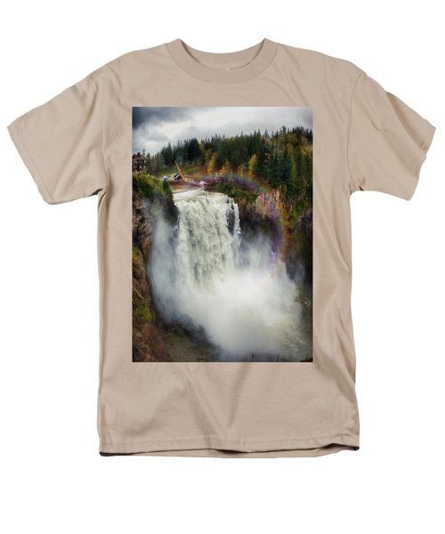 Somewhere Over The Falls Men's T-Shirt  (Regular Fit)