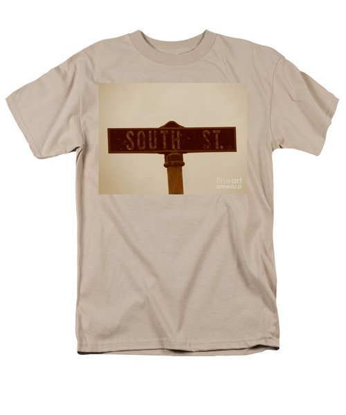 South Street Men's T-Shirt  (Regular Fit) by Michael Krek