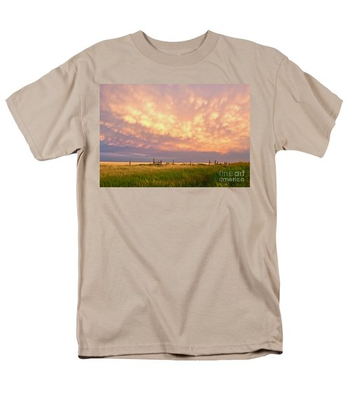 Southeastern New Mexico Men's T-Shirt  (Regular Fit) by Roselynne Broussard