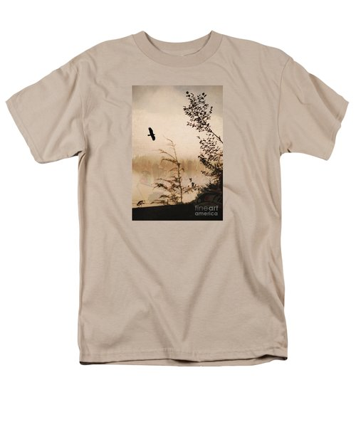 Spirit Of Alaska Men's T-Shirt  (Regular Fit) by Cynthia Lagoudakis