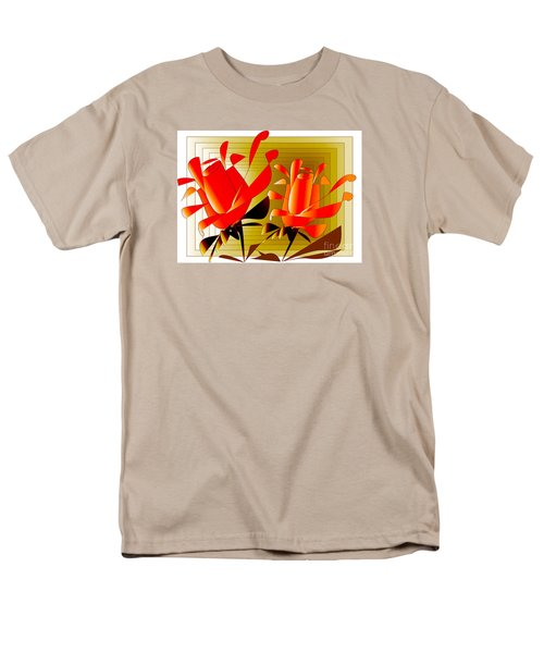 Spirit Of Roses Men's T-Shirt  (Regular Fit) by Iris Gelbart