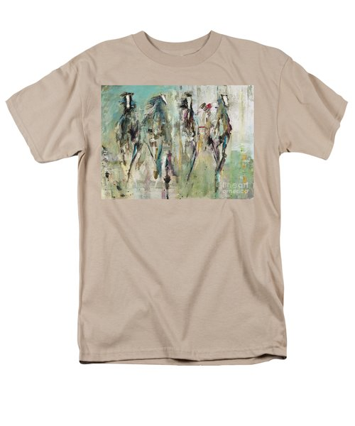 Spooked Men's T-Shirt  (Regular Fit) by Frances Marino