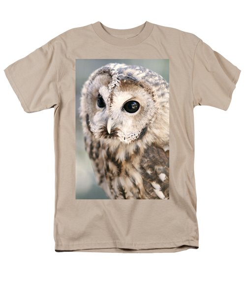 Men's T-Shirt  (Regular Fit) featuring the photograph Spotted Owl by Shoal Hollingsworth