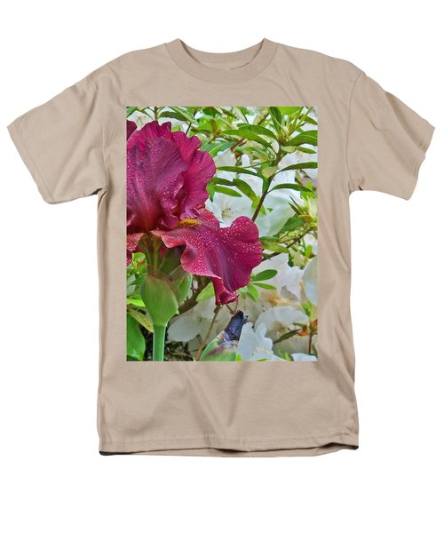 Men's T-Shirt  (Regular Fit) featuring the photograph Spring Glow by Larry Bishop