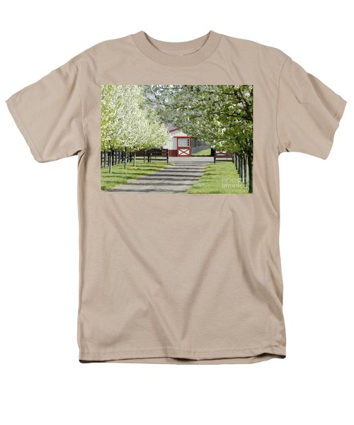 Men's T-Shirt  (Regular Fit) featuring the photograph Spring Time At The Farm by Sami Martin