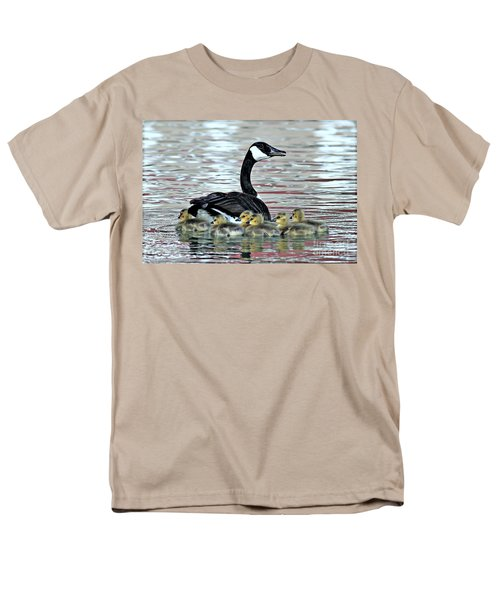 Spring's First Goslings Men's T-Shirt  (Regular Fit)