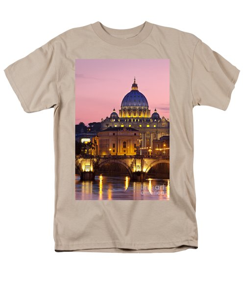 St Peters Basilica Men's T-Shirt  (Regular Fit) by Brian Jannsen