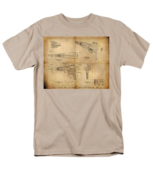 Steampunk Raygun Men's T-Shirt  (Regular Fit) by James Christopher Hill