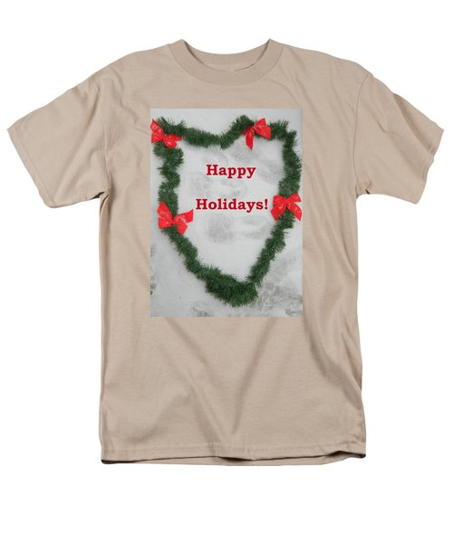 Men's T-Shirt  (Regular Fit) featuring the photograph Stepping Into The Holidays by Emmy Marie Vickers