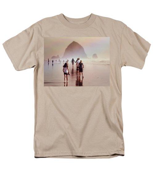 Summer At The Seashore  Men's T-Shirt  (Regular Fit)