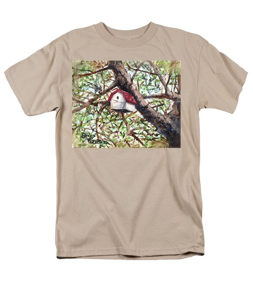 Men's T-Shirt  (Regular Fit) featuring the painting Summer Home by Shana Rowe Jackson