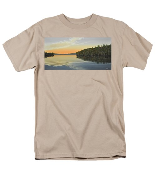 Men's T-Shirt  (Regular Fit) featuring the painting Summers End by Kenneth M  Kirsch