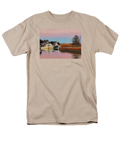Sun Setting At Murrells Inlet Men's T-Shirt  (Regular Fit)
