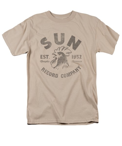 Sun - Vintage Logo Men's T-Shirt  (Regular Fit) by Brand A