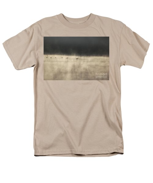 Sunrise Geese Men's T-Shirt  (Regular Fit)