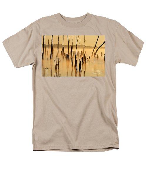 Sunrise Mist Men's T-Shirt  (Regular Fit) by Roger Becker