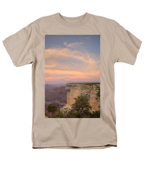 Men's T-Shirt  (Regular Fit) featuring the photograph Sunset At Powell Point by Alan Vance Ley