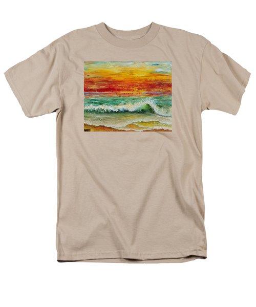 Sunset Breeze Men's T-Shirt  (Regular Fit) by Teresa Wegrzyn