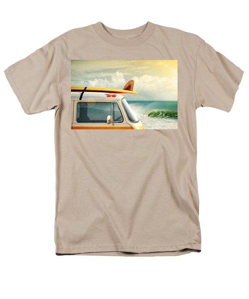 Surfing Way Of Life Men's T-Shirt  (Regular Fit) by Carlos Caetano