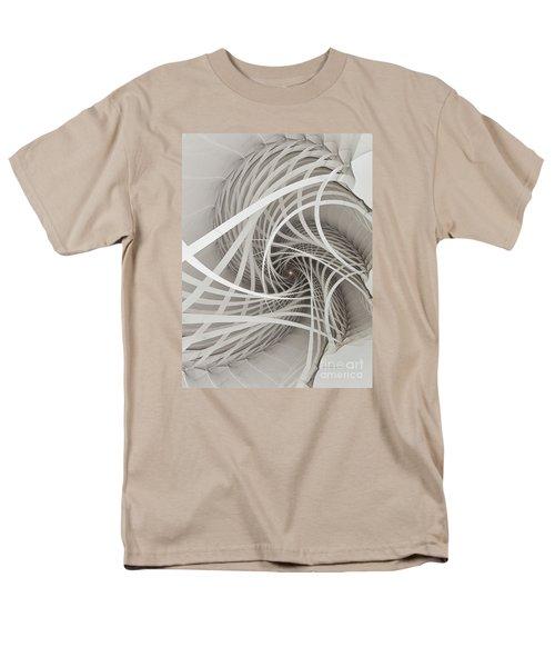Suspension Bridge-fractal Art Men's T-Shirt  (Regular Fit) by Karin Kuhlmann