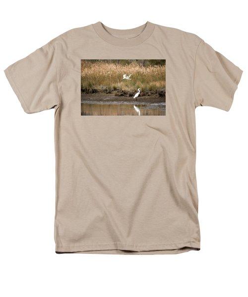 Men's T-Shirt  (Regular Fit) featuring the photograph Taking Flight by Rebecca Davis