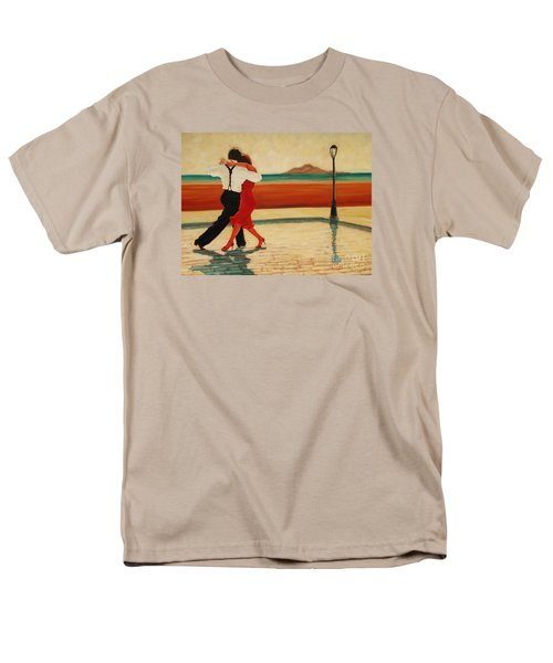 Tango Heat Men's T-Shirt  (Regular Fit) by Janet McDonald