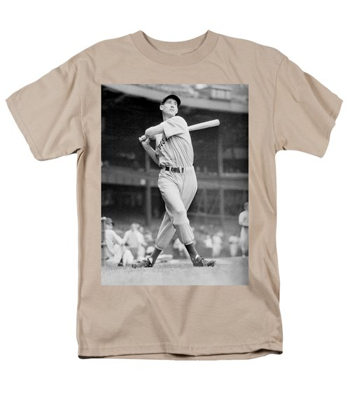 Ted Williams Swing Men's T-Shirt  (Regular Fit) by Gianfranco Weiss