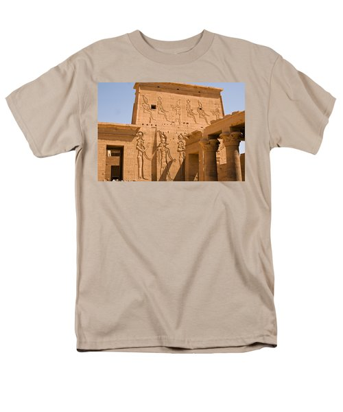 Temple Exterior Men's T-Shirt  (Regular Fit) by James Gay