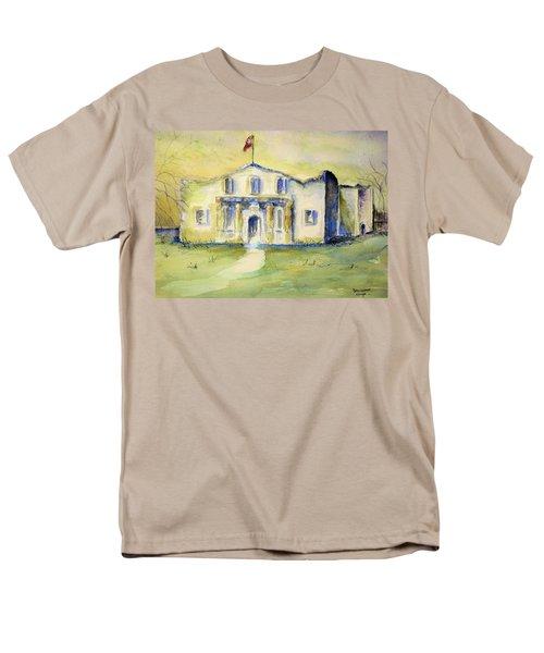 Men's T-Shirt  (Regular Fit) featuring the painting The Alamo  by Bernadette Krupa