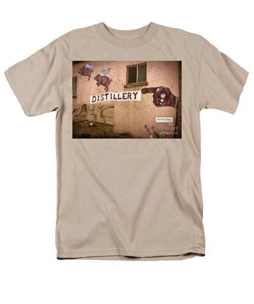 The Distillery Men's T-Shirt  (Regular Fit) by Janice Rae Pariza