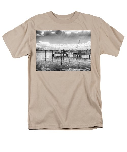 The Dock Men's T-Shirt  (Regular Fit) by Howard Salmon
