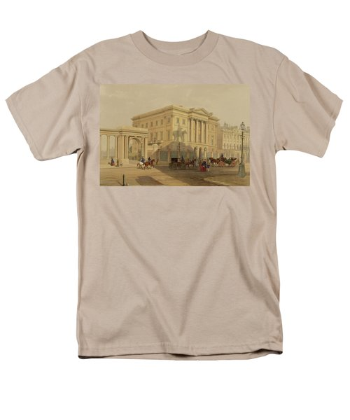 The Exterior Of Apsley House, 1853 Men's T-Shirt  (Regular Fit) by English School