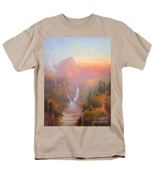 The Fellowship Of The Ring Men's T-Shirt  (Regular Fit) by Joe  Gilronan