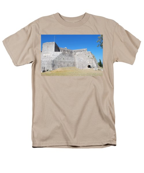 Men's T-Shirt  (Regular Fit) featuring the photograph The Fort Never Fell by George Katechis
