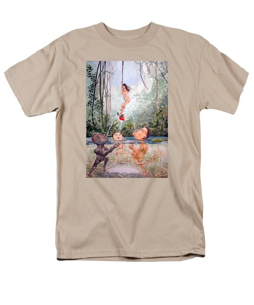 The Game Of The River Men's T-Shirt  (Regular Fit) by Lazaro Hurtado