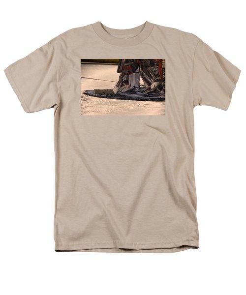 The Goalies Crease Men's T-Shirt  (Regular Fit) by Karol Livote