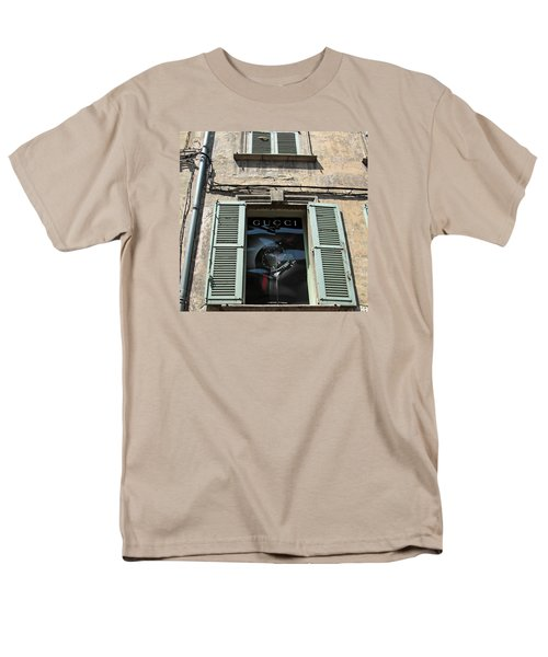 The Gucci Window Men's T-Shirt  (Regular Fit) by John Stuart Webbstock