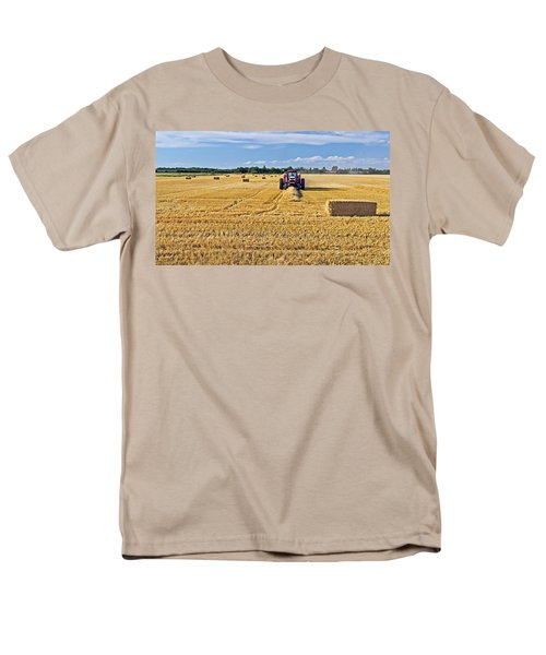 Men's T-Shirt  (Regular Fit) featuring the photograph The Harvest by Keith Armstrong