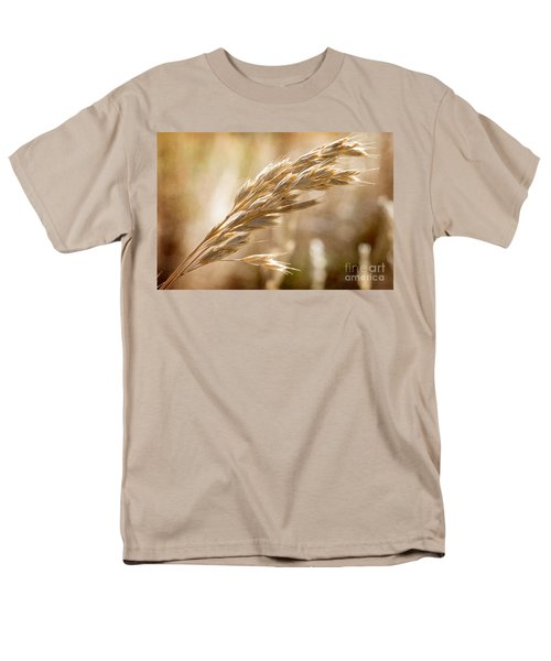 Men's T-Shirt  (Regular Fit) featuring the photograph The Hot Gold Hush Of Noon by Linda Lees
