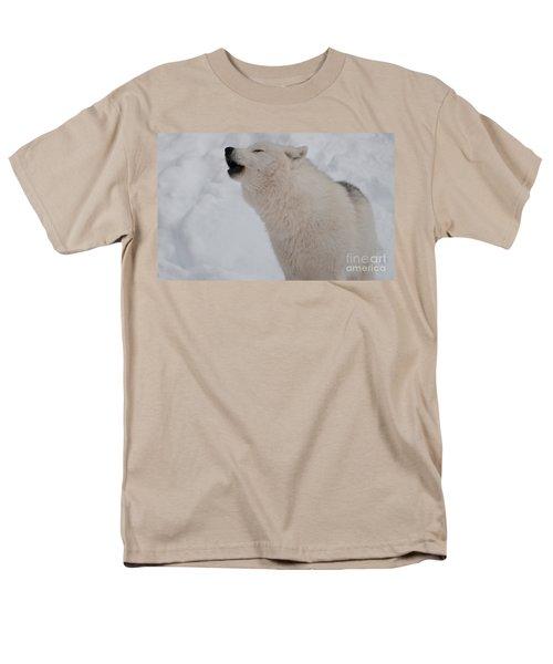 Men's T-Shirt  (Regular Fit) featuring the photograph The Howler by Bianca Nadeau