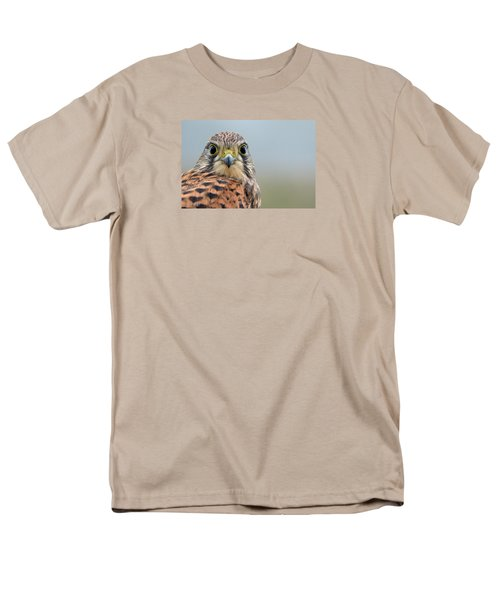 The Kestrel Face To Face Men's T-Shirt  (Regular Fit) by Torbjorn Swenelius