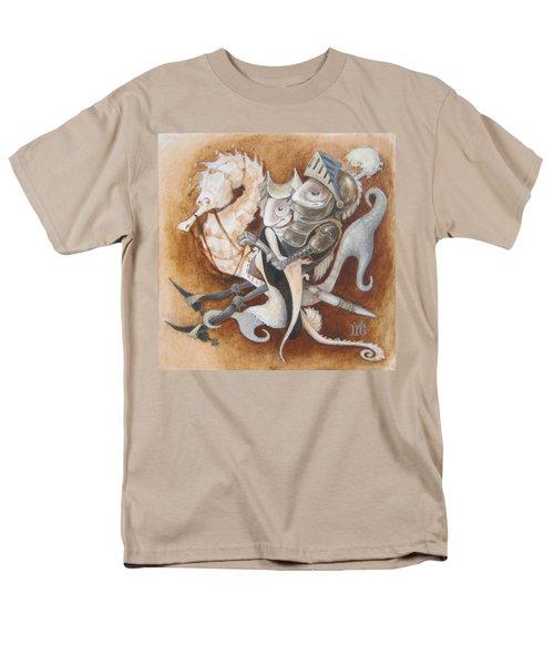 The Knight Tale Men's T-Shirt  (Regular Fit) by Marina Gnetetsky