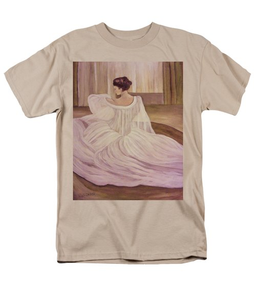 The Lady In White Men's T-Shirt  (Regular Fit) by Christy Saunders Church