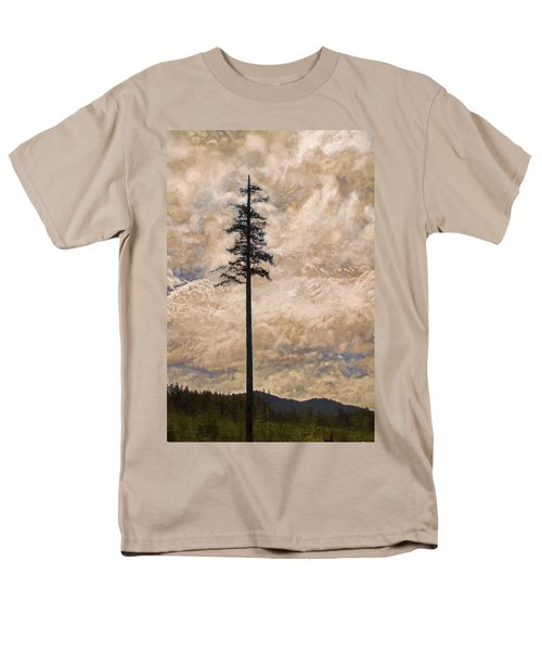 The Lone Survivor Stands In Tranquility Men's T-Shirt  (Regular Fit) by Peggy Collins