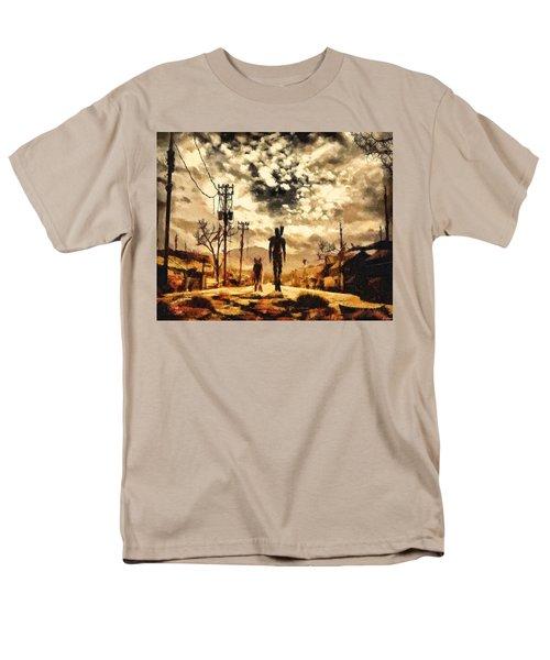 The Lone Wanderer Men's T-Shirt  (Regular Fit) by Joe Misrasi