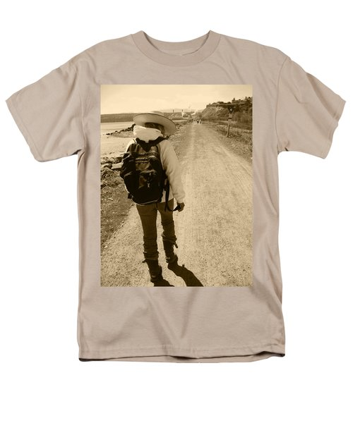 The Long And Winding Road Men's T-Shirt  (Regular Fit) by Kym Backland