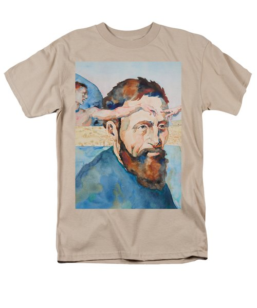 The Mind Of Michelangelo Men's T-Shirt  (Regular Fit) by Michele Myers