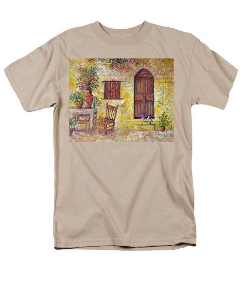The Old Chair Men's T-Shirt  (Regular Fit) by Lou Ann Bagnall