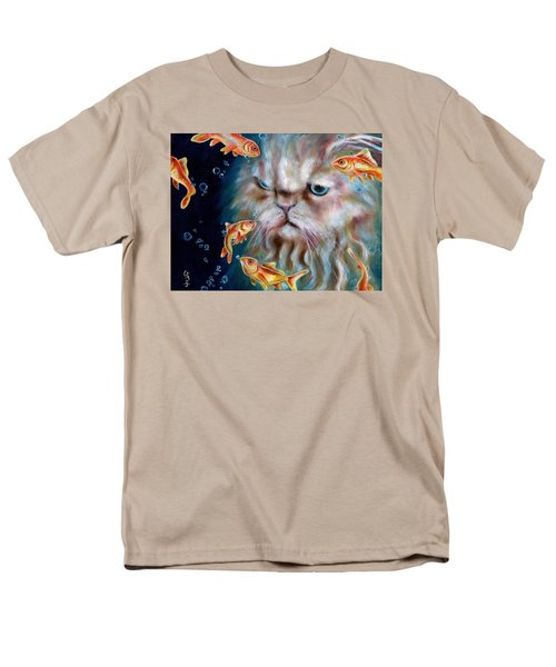 Men's T-Shirt  (Regular Fit) featuring the painting The Other Side Of Midnight by Hiroko Sakai